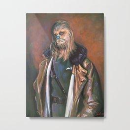 Lieutenant Chewie Metal Print