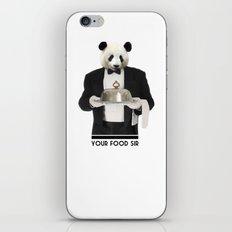 YOUR FOOD SIR iPhone & iPod Skin