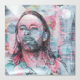 Thom Yorke - Give Up The Ghost Canvas Print