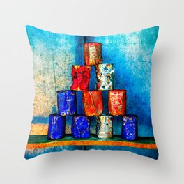 The Second Life Of Soup Cans Throw Pillow