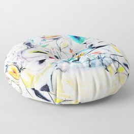 Arshile Gorky - Good afternoon mrs lincoln - Digital Remastered Edition Floor Pillow