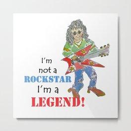 rockstar legend Metal Print