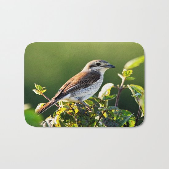One Bird in the Bush (just one) Bath Mat