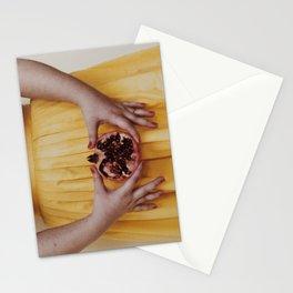 Punica granatum Stationery Cards