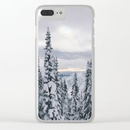 Waist Deep Clear iPhone Case