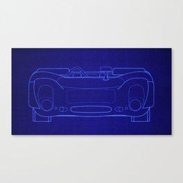 DBM BP PORSCHE 908 Spyder front Canvas Print