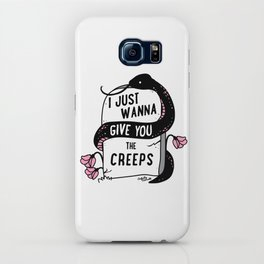 I Just Wanna Give You The Creeps iPhone Case