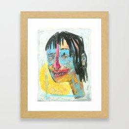 Be Silent, Be Still Framed Art Print