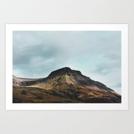 Colours of Iceland Art Print