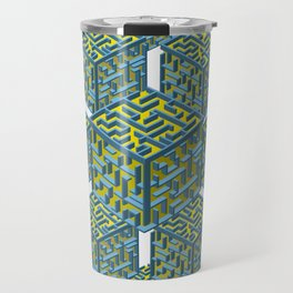 Cubed Mazes Travel Mug