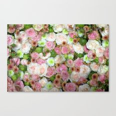 Strictly Flowers Canvas Print