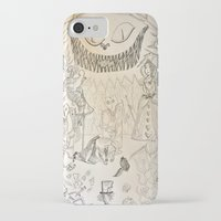alice wonderland iPhone & iPod Cases featuring Wonderland  by Jgarciat