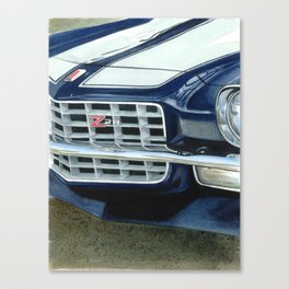 73 Camaro Z28 Canvas Print