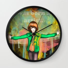 I was born Wall Clock