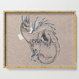 Ice Dragon Serving Tray