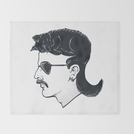 The Mullet Throw Blanket