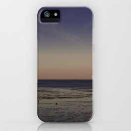 Wadden sea by Horumersiel-Schillig ( Northsea ) iPhone Case