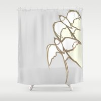 plain Shower Curtains featuring s1 plain by gasponce