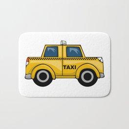 Yellow Taxi Bath Mat