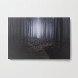 Fog of Wychwood Metal Print