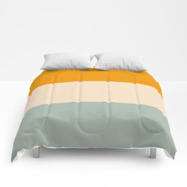 Heracles - Minimal Summer Retro Stripes Comforters