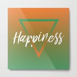 Happiness - Feelings series Metal Print