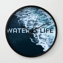 I Stand With Standing Rock Wall Clock