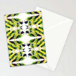 ethno kaleidoscope art smears Stationery Cards
