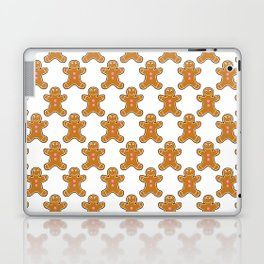 Gingerbread Man Pattern Laptop & iPad Skin