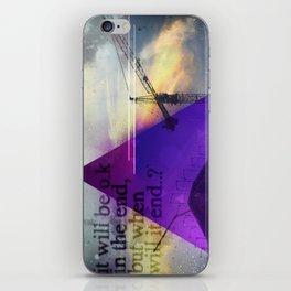 IT WILL B OK iPhone Skin