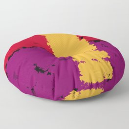 The resistence of Art. Color is freedom. Floor Pillow