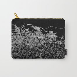 san juan map porto rico Carry-All Pouch