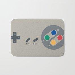 SNES controller Bath Mat
