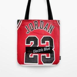 Electric Blue I'm Jordan Tote Bag
