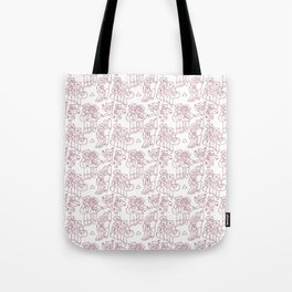 Stan and Ford Pattern Tote Bag