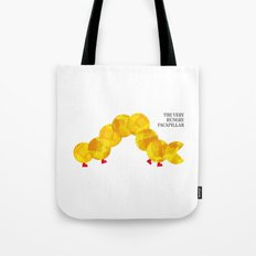 The Very Hungry Pacapillar Tote Bag