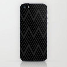 Black on Black Chevrons iPhone & iPod Skin