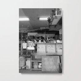 Seafood Store Metal Print