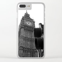 London bnw Clear iPhone Case