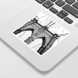 new york #3 - Brooklyn Bridge Sticker