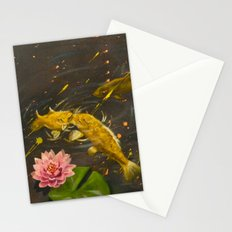 Kissing Koi Stationery Cards
