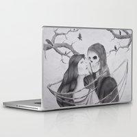 dramatical murder Laptop & iPad Skins featuring Murder by Lexi Q Studio