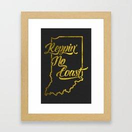 Reppin' No Coast Framed Art Print