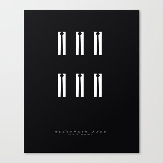 Minimal - Reservoir dogs Canvas Print
