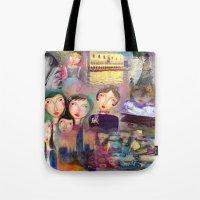 monet Tote Bags featuring Monet by sara aguiar