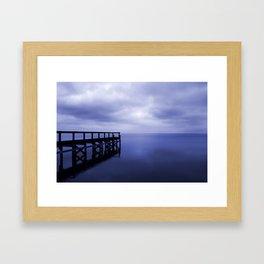 Serenity on the Lake Framed Art Print
