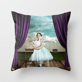 The Audition Throw Pillow