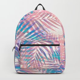Palm Leaves - Iridescent Pastel Backpack
