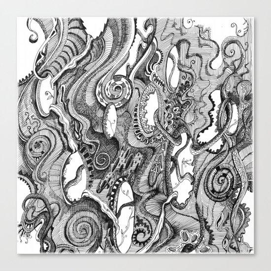 Tendrils Canvas Print