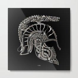 Antique Helmet Metal Print